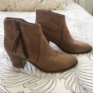 Urban Outfitters Leather booties size 7.5